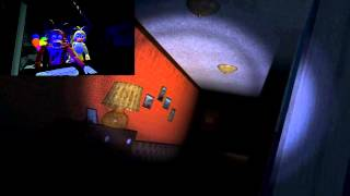 getlinkyoutube.com-(Five Nights At Freddy's sfm animation) Foxy and Toy Chica reacts five nights at freddy´s 4 trailer