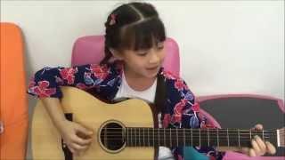 getlinkyoutube.com-Lenka - The Show ,Guitar Acoustic Cover by Gail Sophicha น้องเกล