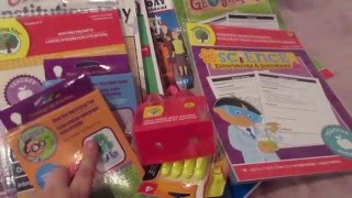 getlinkyoutube.com-2016/2017 Homeschool supply haul (Dollar Tree & Curriculum Sale)