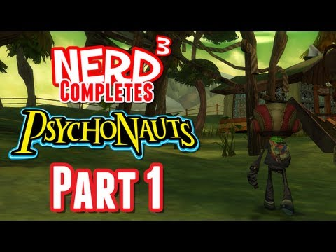 Nerd Completes... Psychonauts - Part 1