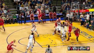 getlinkyoutube.com-NBA 2K16 - '95-'96 Bulls vs Golden State Warriors