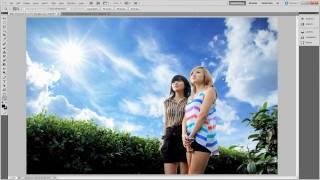 getlinkyoutube.com-Học photoshop - Kỹ thuật ghép mây cao cấp trong photoshop - Dohoafx.com