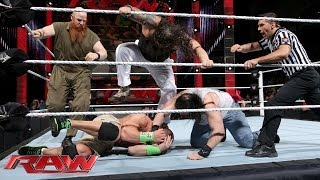 WWE Raw: John Cena vs. The Wyatt Family