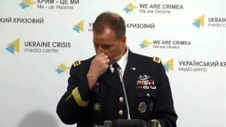 getlinkyoutube.com-Lieutenant General Ben Hodges, USA. Ukraine Crisis Media Center, 19th of May 2015