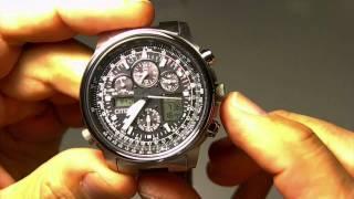 getlinkyoutube.com-Reloj Citizen JY8020-52E Super Pilot Radiocontrolado Ecodriv