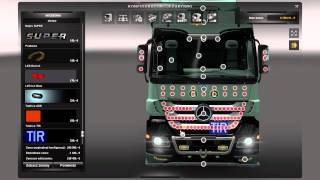 getlinkyoutube.com-ETS 2 - Tuning Actros MP III