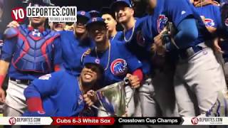 Chicago Cubs Crosstown Cup Champs 2017