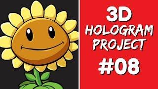 getlinkyoutube.com-3D Hologram Project - 3D Hologram Project #08