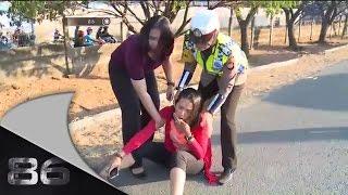 getlinkyoutube.com-86 Penanganan Kecelakaan Beruntun di Makassar