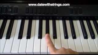 getlinkyoutube.com-Tum Hi Ho .. 'Aashiqui 2' Basic Piano Tutorial .. !!