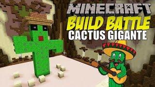 getlinkyoutube.com-Minecraft: Build Battle, El Cactus Gigante