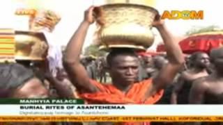 getlinkyoutube.com-Asantehemaa's funeral