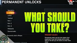 getlinkyoutube.com-Black Ops 3 - What Should You Permanently Unlock After PRESTIGE? | Best Perks, Weapons, ETC!