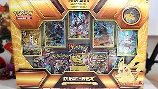 Opening A Pikachu EX Legendary Collection Box!!