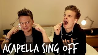ACAPELLA SING OFF WITH CONOR MAYNARD