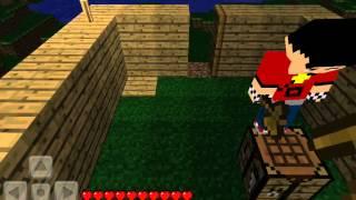 Minecraft Pocket Edition Multiplayer con scarlosc123 Ep 1:Trabajo en equipo