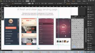 getlinkyoutube.com-Redux - Free App Landing Page Template for Adobe Muse CC