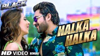 getlinkyoutube.com-Halka Halka (Full Song) | Black - Bengali Movie 2015 - Soham, Mim