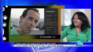 Maggie Silva de Century Link habla de los servicios de TV e Internet en el Suroeste de Florida