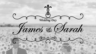 Wedding Titles - After Effects Tutorial! │ Animating Wedding Titles for Wedding Videos!