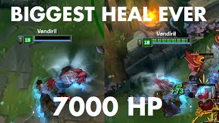 Biggest Heal EVER (7000+ Instant Heal)