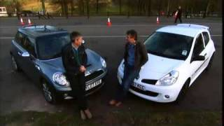 getlinkyoutube.com-Fifth Gear - [13x10] - Clio RS vs Mini Coper.mp4
