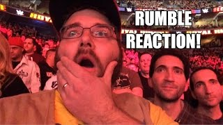 getlinkyoutube.com-Grim's EPIC REACTIONS to 2015 WWE ROYAL RUMBLE! Roman Reigns Wins! Bryan Gets Eliminated!