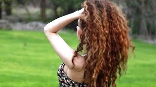 getlinkyoutube.com-How to Style Curly Hair!! (Wet to Dry Routine)