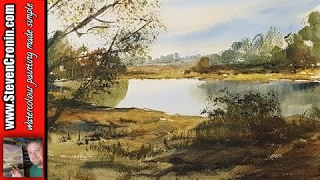 getlinkyoutube.com-Sutton Park Watercolour Painting Demonstration