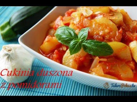 Cukinia duszona z pomidorami