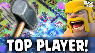 "getlinkyoutube.com-Clash of Clans ""World #1 Player Attacked!"" Shocking Losses in CoC"