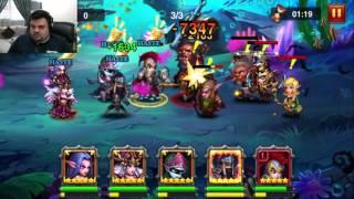 Прохождение 18 главы heroes charge