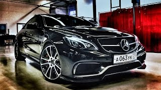 Mercedes E63 AMG Coupe 925 HP GAD Motors Review by AutoTopNL (English Subtitles)