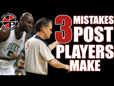 Become A better Post Player | 3 Mistakes To Avoid | Pro Training Basketball