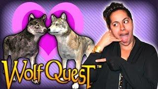 getlinkyoutube.com-Finding LOVE in WolfQuest!