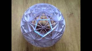 getlinkyoutube.com-sliceform - papercraft - kusudama - 31 great circles - tutorial - dutchpapergirl