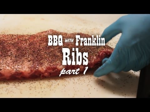 BBQ with Franklin: Ribs part 1