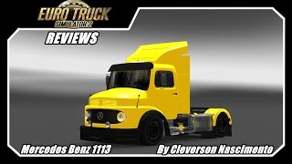 getlinkyoutube.com-Mods Reviews -- Mercedes Benz 1113 By Cleverson Nascimento 1.16x