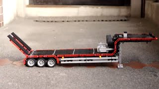 getlinkyoutube.com-LEGO Technic Trailer Full Motorized Truck MOC