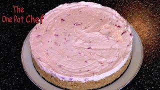 getlinkyoutube.com-Strawberry Cheesecake (No Bake!) | One Pot Chef