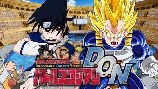 Battle Stadium D.O.N | Sasuke VS Vegeta (#HYPE4JSTARS+)