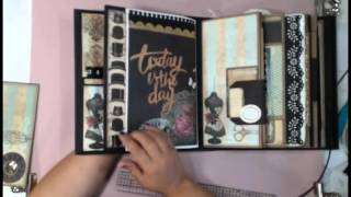 getlinkyoutube.com-My Design Mini - How to decorate the pages Part 1
