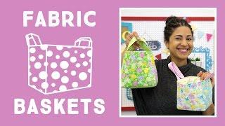 getlinkyoutube.com-Easy Fabric Baskets