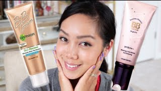 Korean BB Cream (Etude House) Vs. American BB Cream (Garnier) - itsjudytime