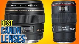 getlinkyoutube.com-8 Best Canon Lenses 2016