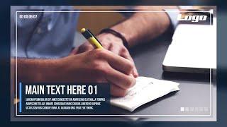 getlinkyoutube.com-Corporate Slideshow After Effects Templates