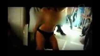getlinkyoutube.com-Bailarina exotica se desnuda en el metro de Monterrey - Luna Bella