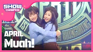 getlinkyoutube.com-(ShowChampion EP.166) APRIL - Muah! (에이프릴-Muah!)