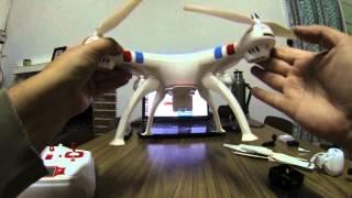getlinkyoutube.com-Drone Syma X8C - Prueba de vuelo y características generales