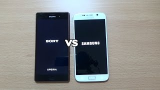 getlinkyoutube.com-Samsung Galaxy S6 VS Sony Xperia Z3 - Speed Test!